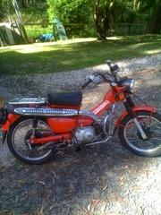 Honda 2006 postie farm bike(not able to register)