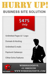 Bespoke Business Website Design Offers Only USD475