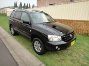 toyota kluger TOYOTA KLUGER CVX 2005 MY06 7 SEATER WAGON AWD BLA