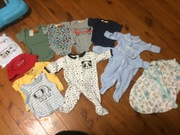 Baby clothes from 0000 up to 00