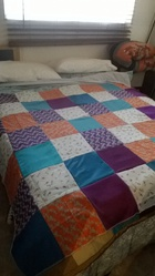single bed quilt or queen zize comforter