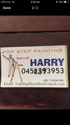 Painter - Top step Painting services